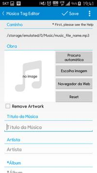 Star Music Tag Editor imagem de tela 2