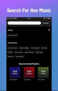 Tuner Radio - Mp3 player screenshot 1
