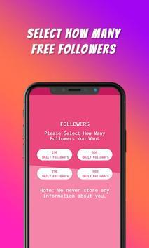TikFame : Free Fans & Followers & Likes screenshot 3