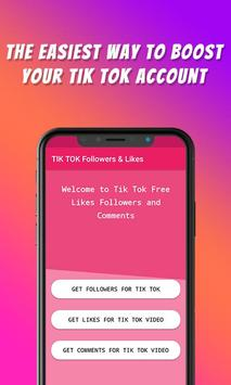 TikFame : Free Fans & Followers & Likes poster