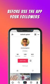 TikFame : Free Fans & Followers & Likes screenshot 1