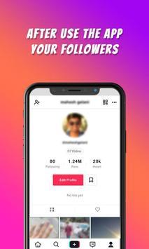 TikFame : Free Fans & Followers & Likes screenshot 2