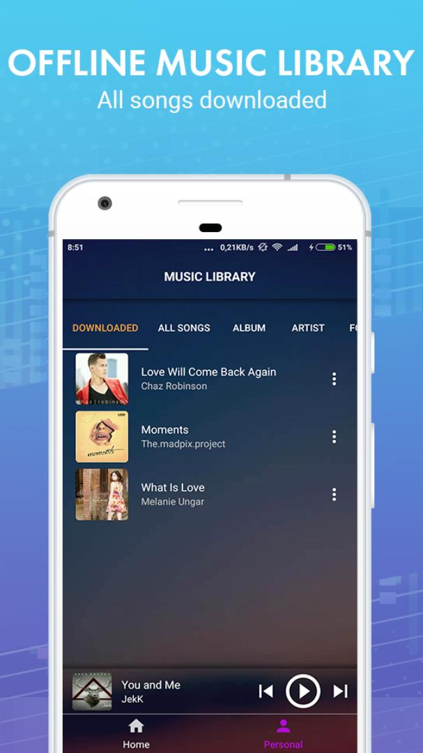 top music downloader for android