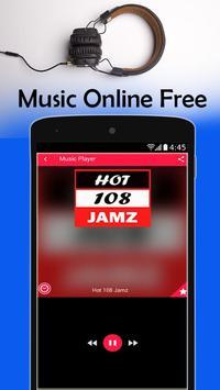 Hot 108 Jamz Radio New York poster