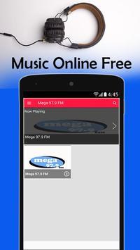 Mega 97.9 Nueva York 97.9 FM Radio Station screenshot 2