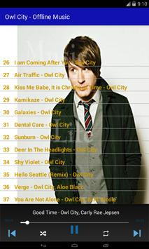 Owl City - Offline Music screenshot 6