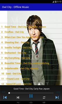Owl City - Offline Music screenshot 2