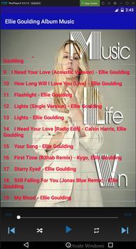 Ellie Goulding Album Music screenshot 2