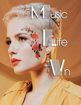Halsey Music Album poster
