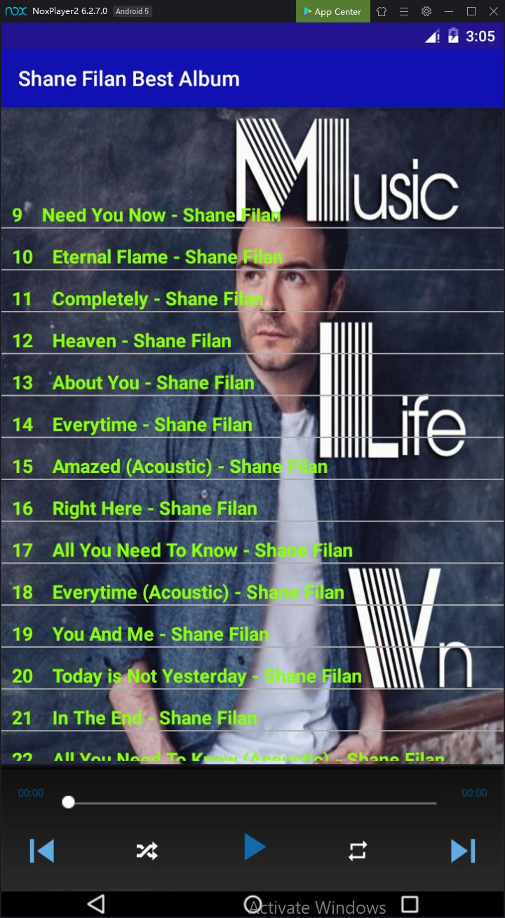 Shane Filan Best Album for Android - APK Download