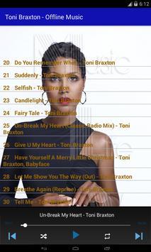 Toni Braxton - Offline Music screenshot 1