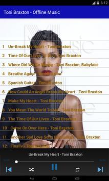 Toni Braxton - Offline Music screenshot 2