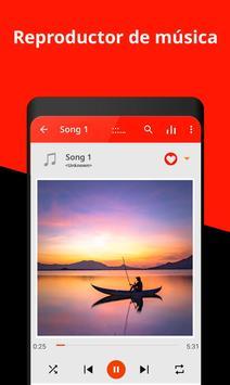 Un reproductor de música captura de pantalla 1