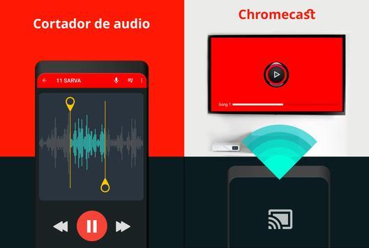 Un reproductor de música captura de pantalla 3