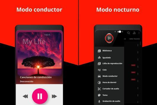 Un reproductor de música captura de pantalla 5