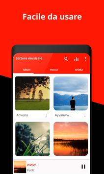 Poster Music Player