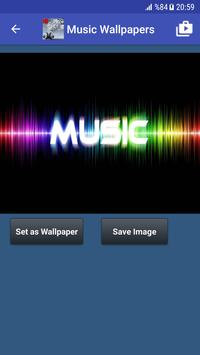 Music Wallpaper HD captura de pantalla 7