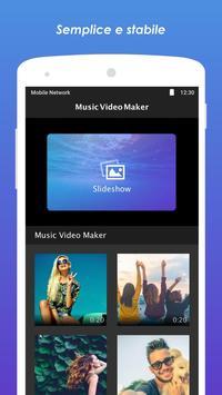 5 Schermata Music Video Maker