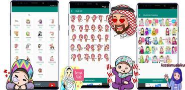 WA Sticker Muslimah Islami for WhatsApp