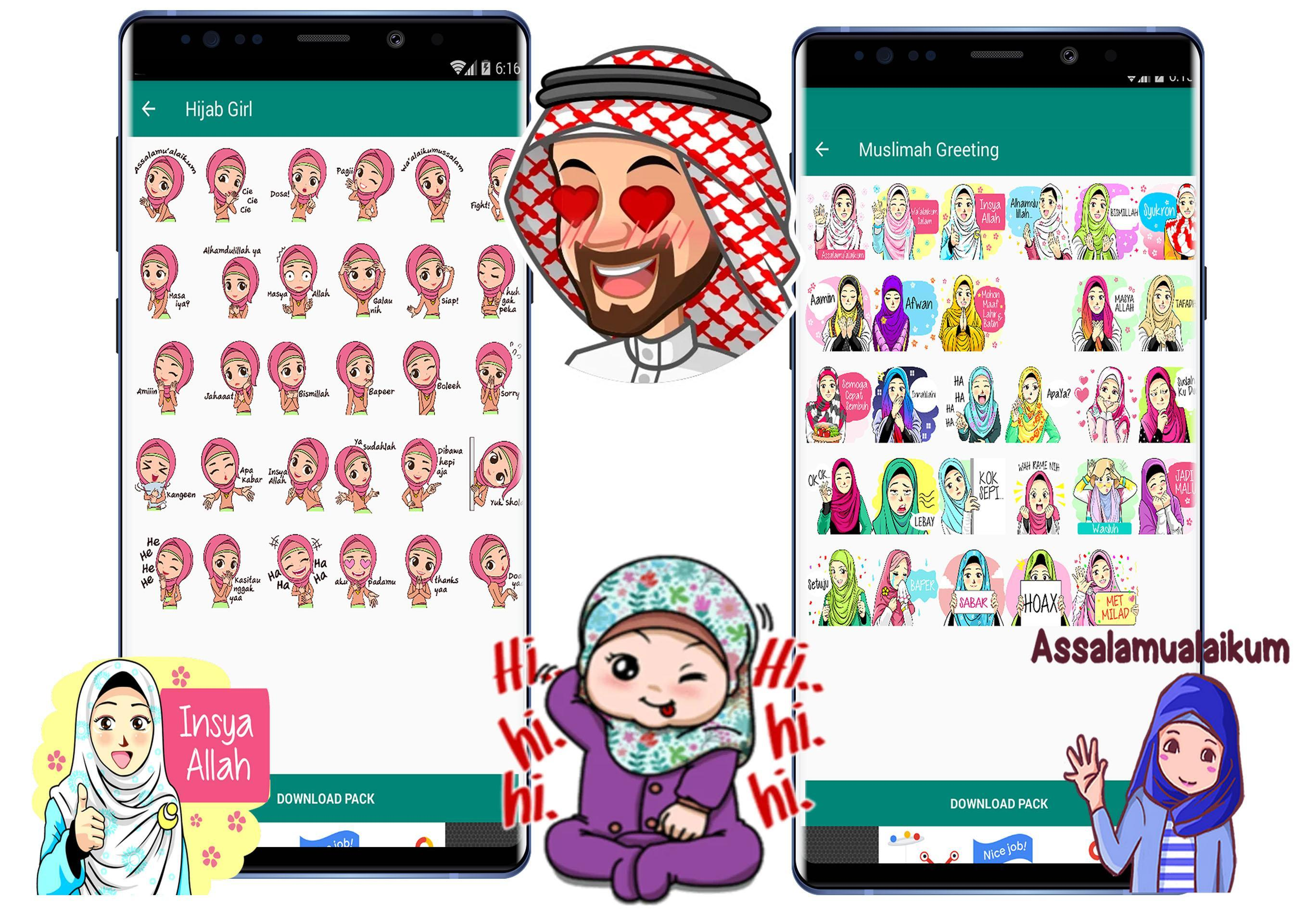 Wa Sticker Muslimah Islami For Whatsapp For Android Apk