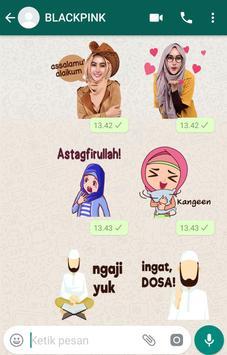 WA Sticker Muslimah screenshot 7