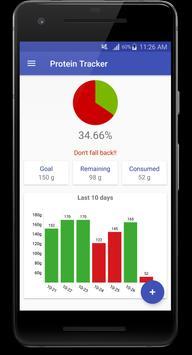 Protein Tracker screenshot 2