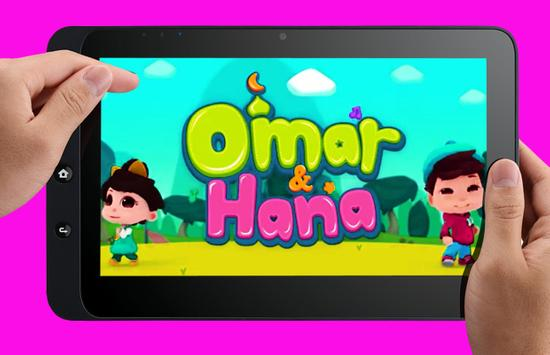 Lagu Omar dan Hana poster