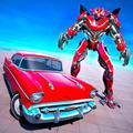 Classic Car Robot Transforming Games: Robot War