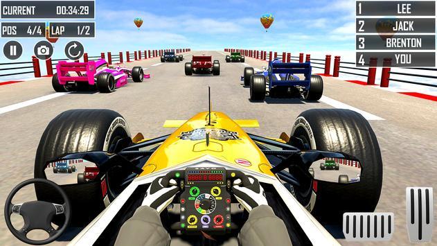 Formula Car Racing Stunt screenshot 12
