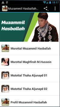 Muzammil Hasballah MP3 poster