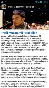 Muzammil Hasballah MP3 screenshot 5