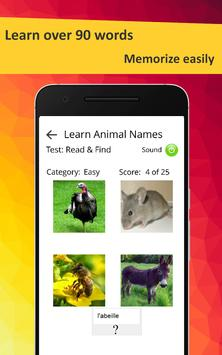 Learn Animals in French screenshot 10