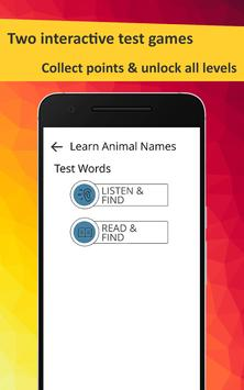 Learn Animals in French screenshot 12