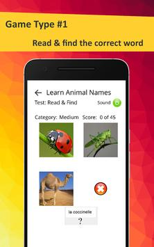 Learn Animals in French screenshot 21