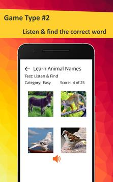 Learn Animals in French screenshot 6