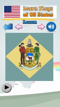 Learn Flags of the US States screenshot 1