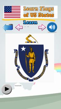 Learn Flags of the US States screenshot 2