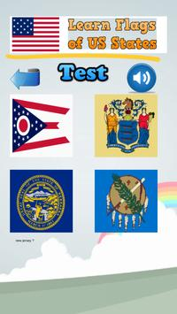 Learn Flags of the US States screenshot 9