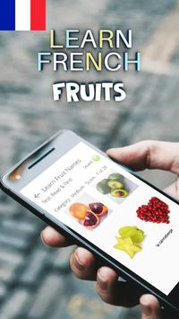 Learn Fruits in French poster