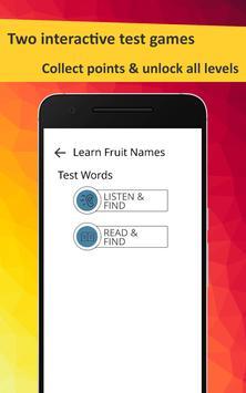 Learn Fruits in French screenshot 12