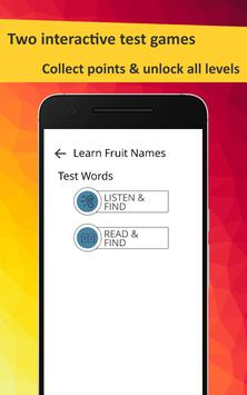 Learn Fruits in French screenshot 4
