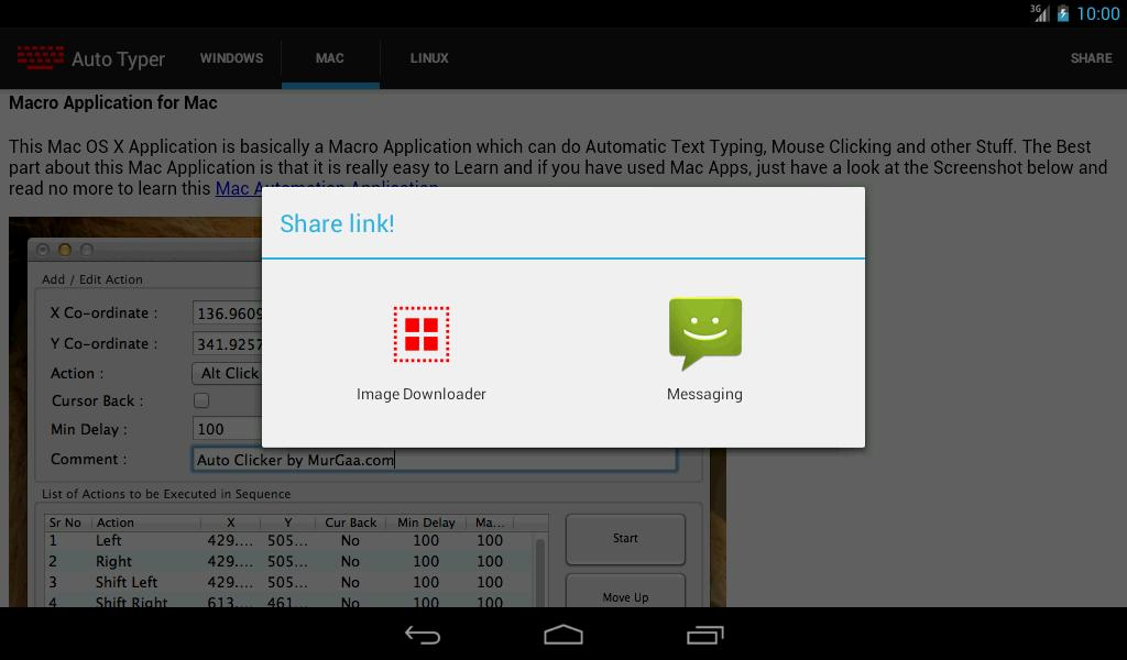 Auto Typer for Android - APK Download