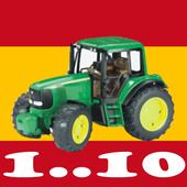 Números para niños en español icon