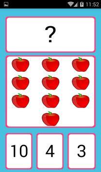 Números para niños en español screenshot 16