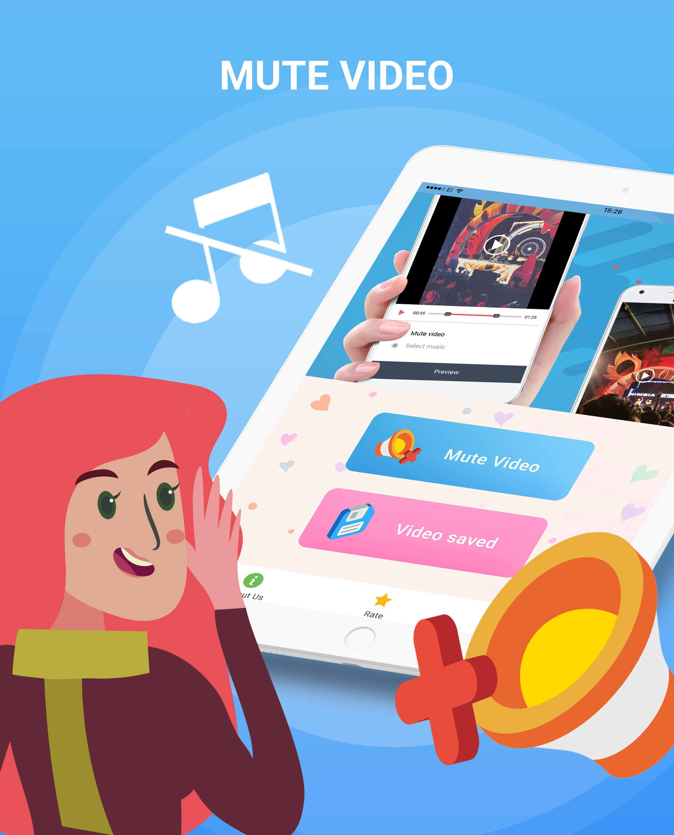 Mute Video Silent Video Remove Audio In Video For Android Apk Download