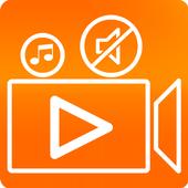Video Audio Editor: Add Audio, Mute, Silent Video icon