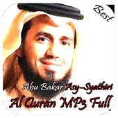 Al Quran Recitation Abu Bakar Asy-Syathiri Mp3 icon