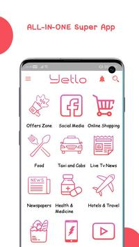 Yetlo - All in One Shopping App screenshot 1