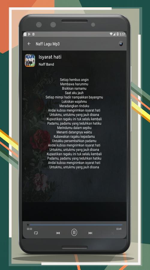 Lagu naff mp3 & lirik for android apk download.