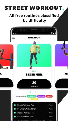 Street Workout for Android - APK Download